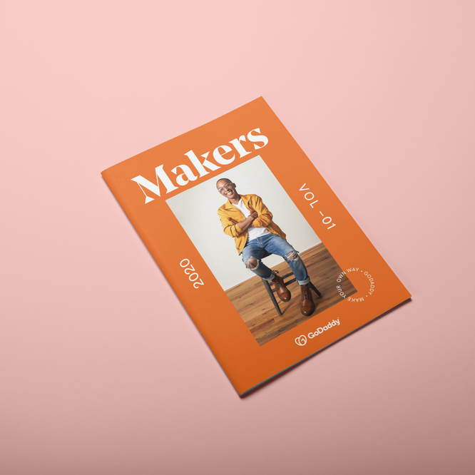 GoDaddy's Makers Magazine, Volume 1, 2019